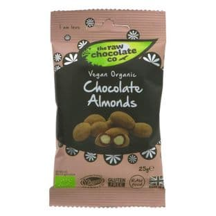 The Raw Chocolate Co Raw Chocolate Covered Almonds - 25g